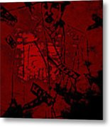Digital Capone Metal Print