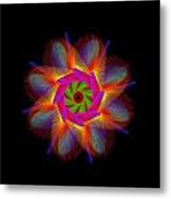 digital flower 08C08a Metal Print