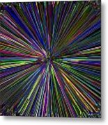 Digital Infinity Abstract Metal Print