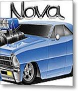 Digital Nova Metal Print