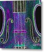 Digital Photograph Of A Viola Violin Middle 3374.03 Metal Print