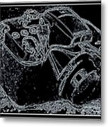 Digital Photography Metal Print
