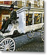 Dignified Departure Paint Metal Print