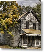 Dilapidated Metal Print by Heather Applegate