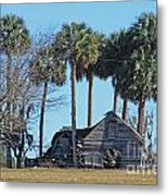 Dilapidated Old Barn - 2 Metal Print