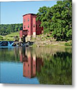 Dillard Mill At Dillard Mill State Metal Print