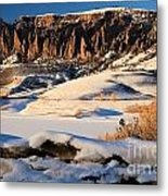 Dillon Pinnacles Sunset Metal Print
