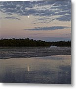Ding Darling And Moon - 16x42 Metal Print