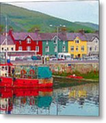 Dingle Ireland Metal Print