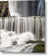 Dingmans Falls Close Up Metal Print