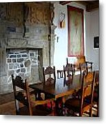 Dining At Donegal Castle Metal Print