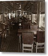 Dining Car Metal Print