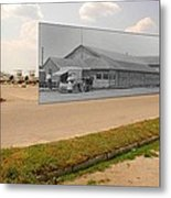 Dining Hall At Sakonnet Point In Little Compton Ri Metal Print