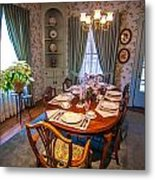 Dining Room And Dinner Table Metal Print