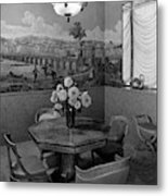 Dining Room In Helena Rubinstein's Home Metal Print