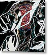 Dinka Dance Metal Print