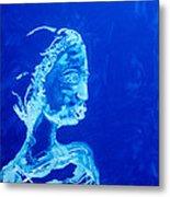 Dinka Painted Lady - South Sudan Metal Print