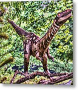 Dino In The Bronx One Metal Print