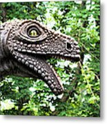 Dino In The Bronx Seven Metal Print