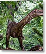 Dino In The Bronx Three Metal Print