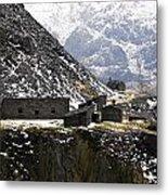 Dinorwig Quarry Buildings Metal Print