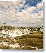 Dinosaur Badlands Metal Print