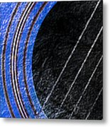 Diptych Wall Art - Macro - Blue Section 1 Of 2 - Giants Colors Music - Abstract Metal Print