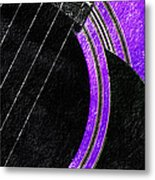 Diptych Wall Art - Macro - Purple Section 2 Of 2 - Vikings Colors - Music - Abstract Metal Print