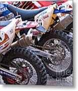 Dirt Bikes Metal Print by Rick Piper Photography
