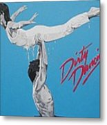 Dirty Dancing The Lift Metal Print