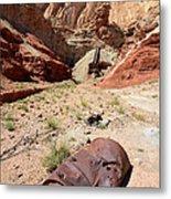 Dirty Devil Mine San Rafael Swell - Utah Metal Print