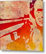 Dirty Harry - 4 Metal Print