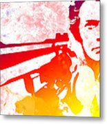 Dirty Harry Metal Print