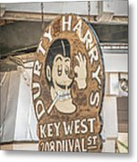 Dirty Harry's Key West - Hdr Style Metal Print