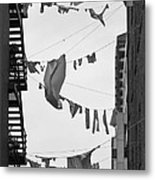 Dirty Laundry Metal Print