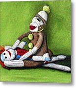 Dirty Socks Metal Print