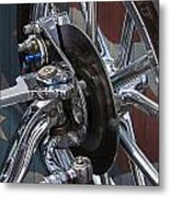 Disc Brakes Hot Rod Metal Print