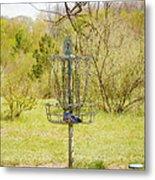 Disc Golf Basket 7 Metal Print