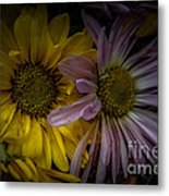 Discarded Bouquet Metal Print