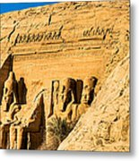 Discovering The Nubian Monuments Of Ramses II Metal Print