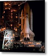 Discovery Space Shuttle Metal Print