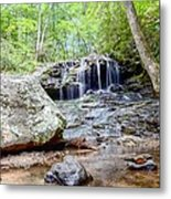 Disharoon Creek Falls Metal Print by Bob Jackson