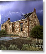 Display Of Power Metal Print by Shannon Rogers