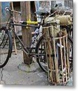 Disney Bicycle Metal Print