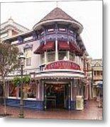 Disney Clothiers Main Street Disneyland 02 Metal Print