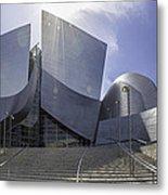 Disney Concert Hall Los Angeles Metal Print