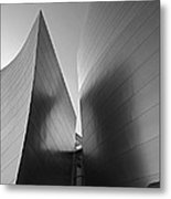 Disney Hall Metal Print by Eileen Shahbazian