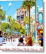 Disney Studios Walt Disney World Orlando Florida Metal Print
