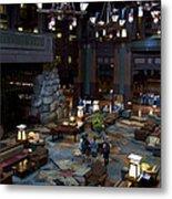 Disneyland Grand Californian Hotel Lobby 01 Metal Print