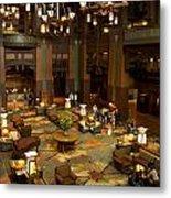 Disneyland Grand Californian Hotel Lobby 04 Metal Print